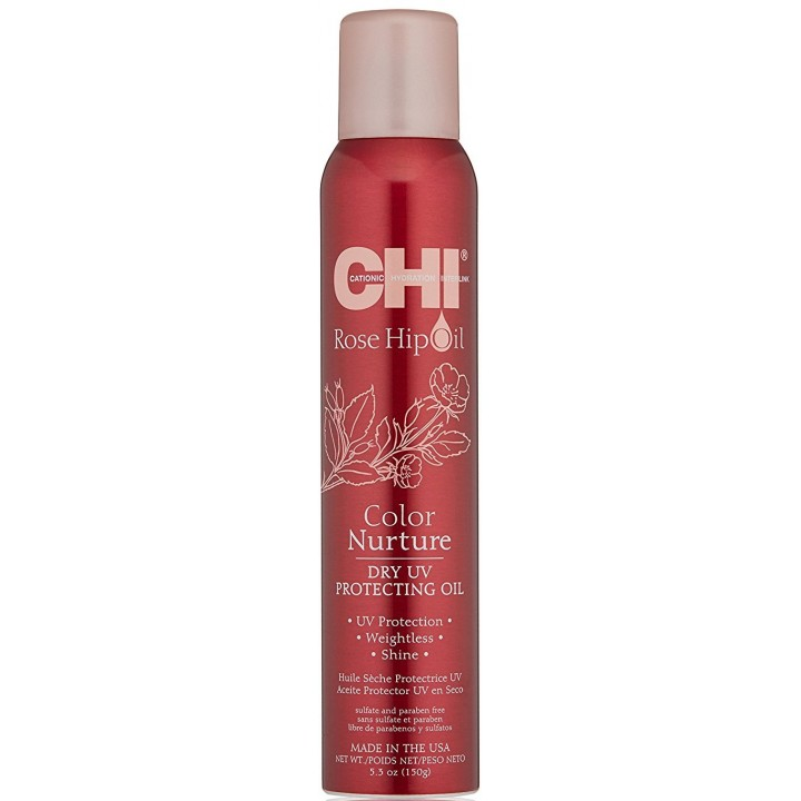 Сухое масло CHI Rose Hip Oil Dry UV Protecting Oil