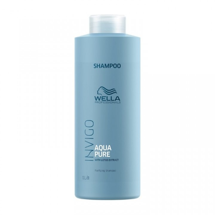 Шампунь очищающий Wella Invigo Aqua Pure Purifying Shampoo 1000 мл