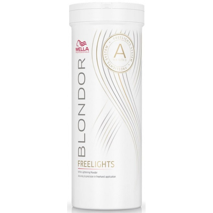 Обесцвечивающая пудра Wella Professionals Blondor Freelights White Lightening Powder 400г