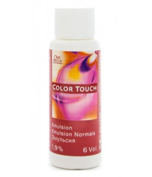 Эмульсия Wella Professionals Color Touch Emulsion 1,9% (6Vol) 60 мл