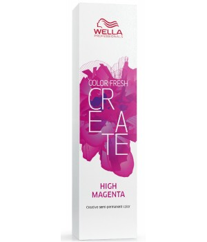 Оттеночная краска Wella Professionals Color Fresh CREATE High Magenta электрик маджента