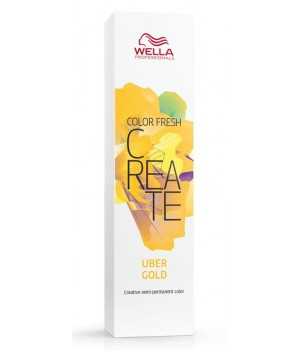 Оттеночная краска Wella Professionals Color Fresh CREATE Uber Gold киберзолото