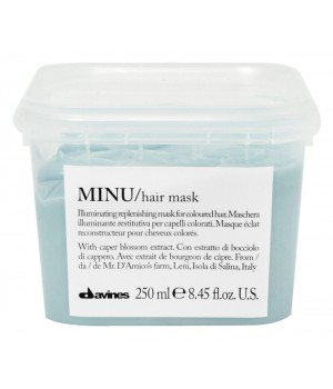 Восстанавливающая маска для окрашенных волос Davines MINU Hair mask 250 мл