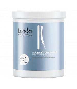 Креативная осветляющая пудра Londa Professional Blondes Unlimited, 400 г